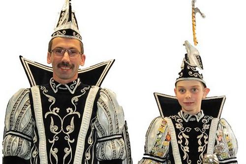Prins Bert I - jeugdprins Yentl I